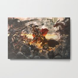 Noxian-Demacian war Metal Print