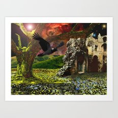 End of Days Art Print