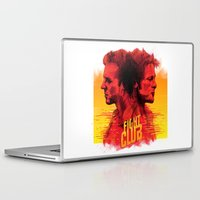 fight Laptop & iPad Skins featuring fight  by İsmail Kocabas