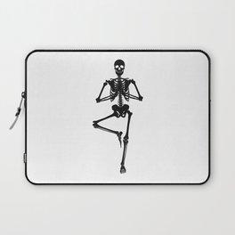 Balancing Body Skeleton Laptop Sleeve