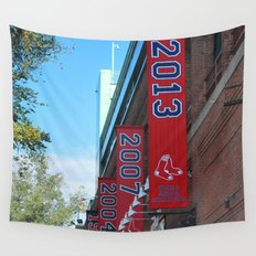 Red Sox - 2013 World Series Champions!  Fenway Park Wall Tapestry