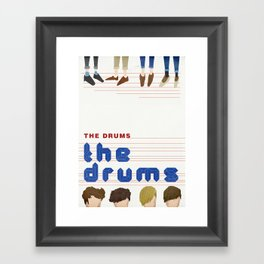 The Drums Framed Art Print