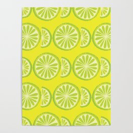 Lime Pattern Poster