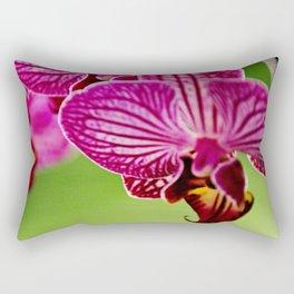 Close up Orchid #4 Rectangular Pillow