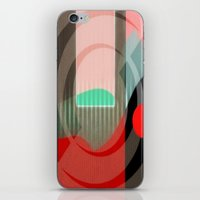 courage iPhone & iPod Skins featuring Courage by Kristine Rae Hanning
