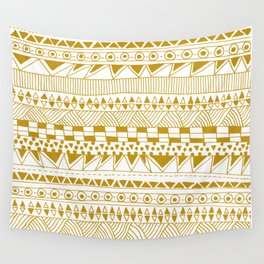 Fun (gold version) Wall Tapestry
