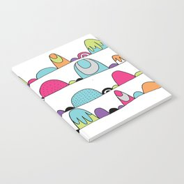 Mid Century Patterns and Illustration Notebook