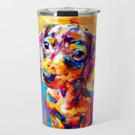 Mini Dachshund Travel Mug