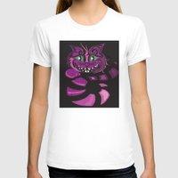 cheshire cat T-shirts featuring Cheshire Cat by KaytiDesigns