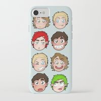 talking heads iPhone & iPod Cases featuring Heads by gabitozati