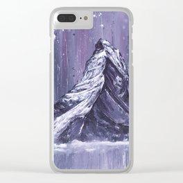 The Matterhorn Clear iPhone Case