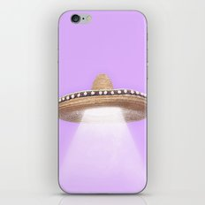 SOMBRERO UFO iPhone & iPod Skin