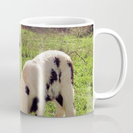 Ewe and Twin Spring Lambs Coffee Mug