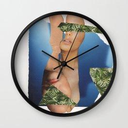 Inverted Women Wall Clock