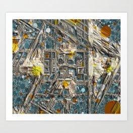Rocky Outcropping Art Print
