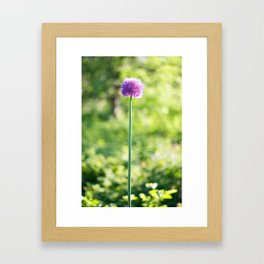 A tall one Framed Art Print