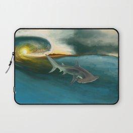 Surfin' Shark Laptop Sleeve