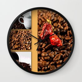Coffeetime Wall Clock