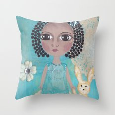 Real friend Throw Pillow