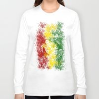 rasta Long Sleeve T-shirts featuring Rasta Honu by Lonica Photography & Poly Designs