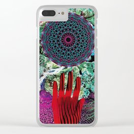 Hand-eye Coordination Clear iPhone Case