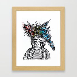 STIMULUS Framed Art Print