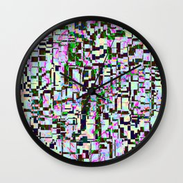 The darkness behind light ... Wall Clock