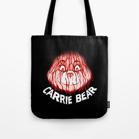 Carrie Bear Tote Bag