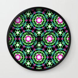 Color Burst Pattern Wall Clock