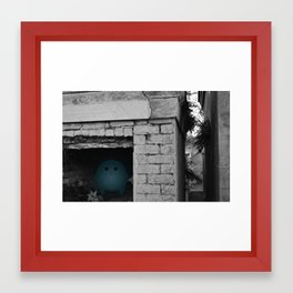 Silence in the Tomb Framed Art Print