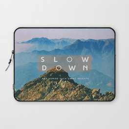 Great heights Laptop Sleeve