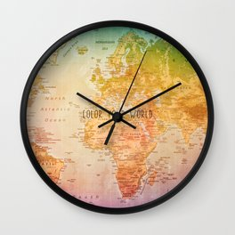 Color your World Wall Clock