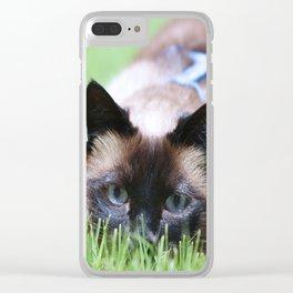 Splendor In The Grass Clear iPhone Case