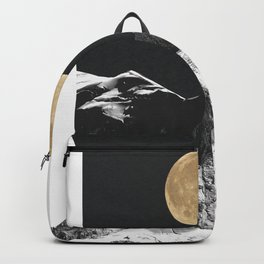 golden moon Backpack