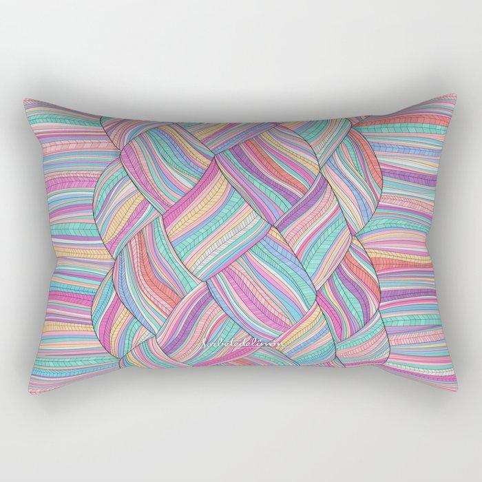 BOHOBRAID Rectangular Pillow