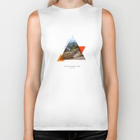 parks Biker Tanks featuring National Parks: Acadia by Roadtrippers