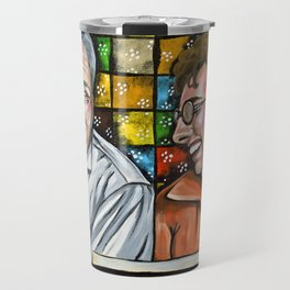 Archie & Edith Bunker  Travel Mug