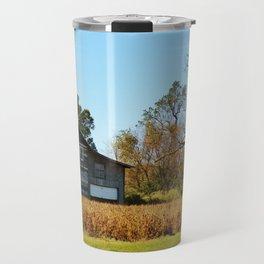 Barn Landscape Travel Mug