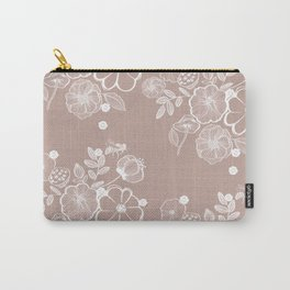 Floral print Carry-All Pouch