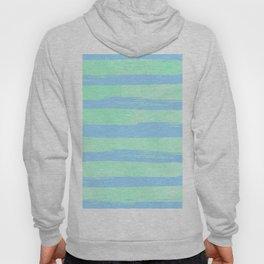 Trendy Stripes Blue Raspberry + Mint Meringue Hoody