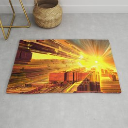 Retro Future Perfect Rug