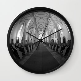 St. Mary's Church St. Mary's parish church in Torgau BW Wall Clock
