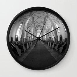 St. Mary's Church St. Mary's parish church in Torgau BW Wall Clock