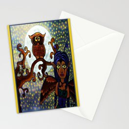 Nyx Of The Night Stationery Cards
