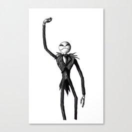 Jack Skellington (Updated) Canvas Print