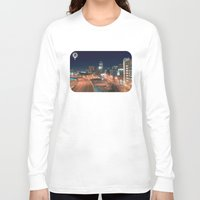 baltimore Long Sleeve T-shirts featuring Baltimore by Andrew Mangum