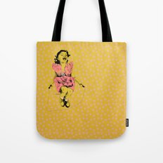 Jump Rope Rhyme Tote Bag