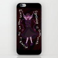 dangan ronpa iPhone & iPod Skins featuring Dangan Ronpa - Sympathy is Overrated  by MinawaKittten