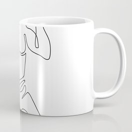 Blacksmith Hammer Continuous Line Coffee Mug