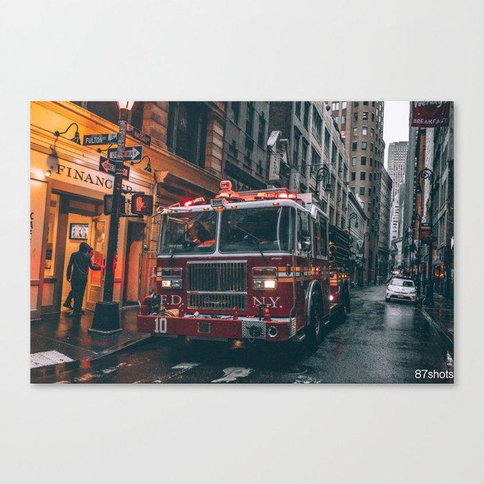 Fulton Fire Squad Canvas Print